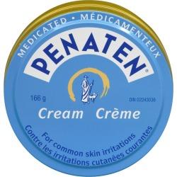 Penaten Medicated Diaper Rash Cream for Baby, Zinc Oxide Cream 166.0 g