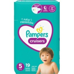 Pampers Pampers Cruisers Diapers Size 5 19 Count 1.0 ea