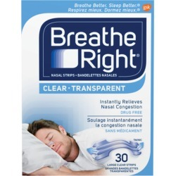 Breathe Right Breathe Right Nasal Strips Clear Large Size 30 count 30.0 Count