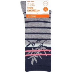 Joe Fresh Women Fashion Bamboo Flower Crew, Navy 2.0 Pack found on Bargain Bro from Beauty Boutique CA for USD $6.25