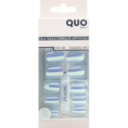 Artificial nail with glue Iridescent found on MODAPINS from Beauty Boutique CA for USD $11.07