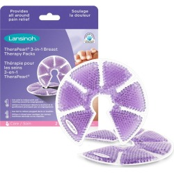 Lansinoh TheraPearl 3-in-1 Breast Therapy Gel Packs 1.0 ea