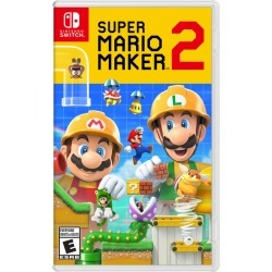 Nintendo Super Mario Maker 2 1.0 ea found on Bargain Bro Philippines from Beauty Boutique CA for $45.38