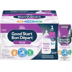 Nestle Good Start GOOD START PLUS 1 Baby Formula, Ready-to-Feed 4.0 L