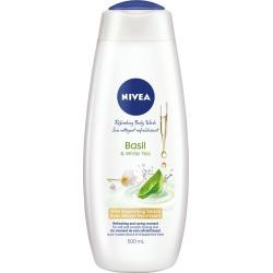 Nivea NIVEA Basil & White Tea Body Wash 500.0 mL