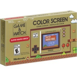 Nintendo Game & Watch: Super Mario Bros. 1.0 ea found on Bargain Bro from Beauty Boutique CA for USD $43.81