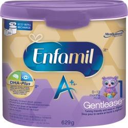 Enfamil Enfamil A+ Gentlease Baby Formula Powder Tub 629.0 g