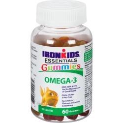 Iron Kids Omega-3 Vitamin Gummies 60.0 Count