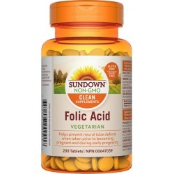 Sd Non-GMO Folic Acid 200.0 Count found on Bargain Bro India from Beauty Boutique CA for $9.08