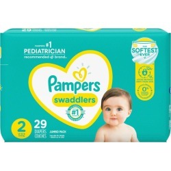 Pampers Pampers Swaddlers Diapers Size 2 29 Count 1.0 EA