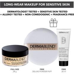 Illuminating Banana Loose Setting Powder - Long-Wear Makeup for Sensitive Skin
