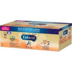 Enfamil Enfamil A+ 2 Baby Formula Ready to Feed- Nipple Ready Bottles 18 pack 237.0 CS