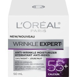 L'Oreal Wrinkle Expert 55+ Anti-Aging Cream Day Moisturizer, with Calcium 50.0 mL found on Bargain Bro India from Beauty Boutique CA for $14.76