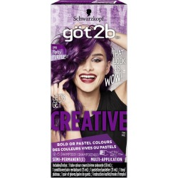 Got 2 B CREATIVE Semi-Permanent Colour Cream 50.0 mL PURPLE found on Bargain Bro India from Beauty Boutique CA for $12.36