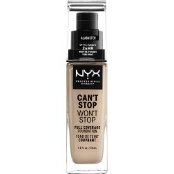 NYX Professional Makeup Can't Stop Won't Stop Liquid Foundation 1.0 ea BROWN found on Bargain Bro from Beauty Boutique CA for USD $11.14