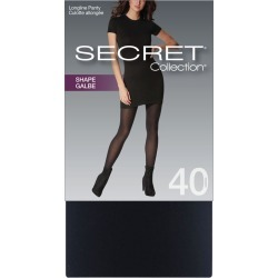 Secret Collection Shape Tights with Longline Panty 1.0 Pair BLACK found on Bargain Bro from Beauty Boutique CA for USD $7.49