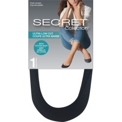Secret Collection Ultra Low Cut Foot Covers 2.0 Pair BLACK found on Bargain Bro Philippines from Beauty Boutique CA for $6.59