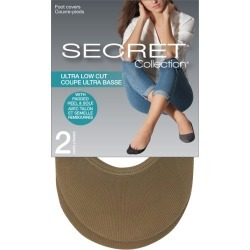 Secret Collection Ultra Low Cut Foot Covers 2.0 Pair NUDE found on Bargain Bro Philippines from Beauty Boutique CA for $8.24