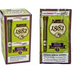 Garcia y Vega 1882 White Grape - 5 Count Packs