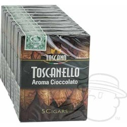 Toscanello Aroma Cioccolato - 3 x 38-Small Packs: 50 Cigarillos