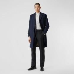 Burberry Cotton Gabardine Car Coat, Size: 38