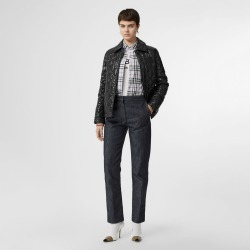Burberry Monogram Motif Diamond Quilted Jacket, Black found on MODAPINS from Burberry for USD $540.00