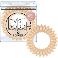 invisibobble The Strong Grip Hair Ring 3 Pack POWER To Be Or Nude To Be - FR