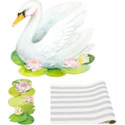 Hester & Cook Swan Tablescape Bundle Maisonette found on Bargain Bro from maisonette.com for USD $56.24