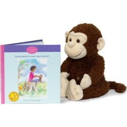 Kids Educational Toys Boodles Plush Toy & Being Adopted is Special Book Your Buddy Boodles Maisonette found on Bargain Bro India from maisonette.com for $38.95