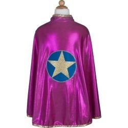 Great Pretenders Wonder Star Cape (Pink, Size 5-6) Maisonette found on Bargain Bro Philippines from maisonette.com for $24.00