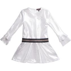 Imoga Snow Marilla Dress (White, Size 10Y) Maisonette found on Bargain Bro from maisonette.com for USD $54.72