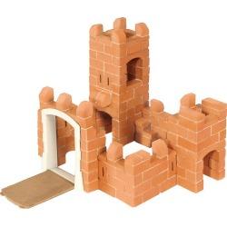 Kids Toys Small Castle Brick Building set (Brown) Teifoc Maisonette found on Bargain Bro India from maisonette.com for $60.00