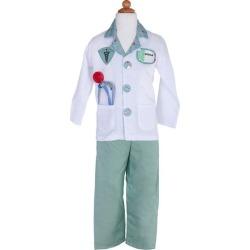 (Green Doctor Set, Size 5-6) by Great Pretenders Kids Toys Maisonette found on Bargain Bro from maisonette.com for USD $25.84