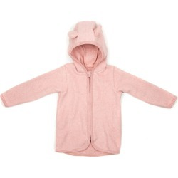 Huttlihut Cotton Fleece Jacket w/ears, Dusty (Rose Pink, Size 6-12M) Maisonette found on Bargain Bro Philippines from maisonette.com for $75.00