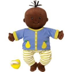 Baby Stella Doll, Brown w/ Black Hair by Manhattan Toy Kids Toys Maisonette