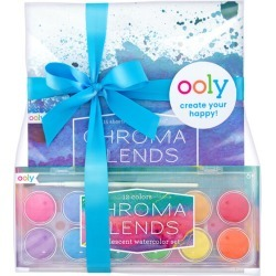 Pearlescent Watercolor Pack by OOLY Kids Toys Maisonette found on Bargain Bro India from maisonette.com for $26.99