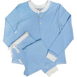 Morgan Lane Women's Kaia Pajama Set, (Blue, Size Large) Maisonette found on Bargain Bro India from maisonette.com for $170.00