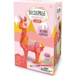 Kids Toys Decoupage Animals, Llama Bright Stripes Maisonette found on Bargain Bro India from maisonette.com for $21.99