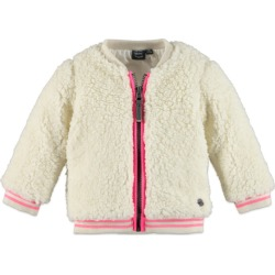 Babyface Fluffy Jacket, Marshmellow (Cream, Size 5Y) Maisonette found on Bargain Bro Philippines from maisonette.com for $39.90