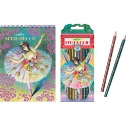 Ballerina Coloring Bundle by eeBoo Kids Toys Maisonette found on Bargain Bro Philippines from maisonette.com for $14.99
