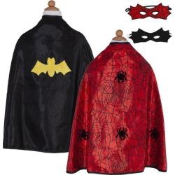 Great Pretenders Reversible Spider/Bat Cape (Black, Size 4-6) Maisonette found on Bargain Bro Philippines from maisonette.com for $30.00