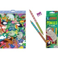 Sloth Coloring Bundle by eeBoo Kids Toys Maisonette found on Bargain Bro Philippines from maisonette.com for $14.99