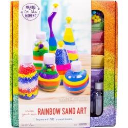 Rainbow Sand Art by Making in the Moment Kids Toys Maisonette found on Bargain Bro India from maisonette.com for $14.99