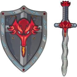 Great Pretenders Red Dragon EVA Sword & Shield Bundle Maisonette found on Bargain Bro Philippines from maisonette.com for $25.00