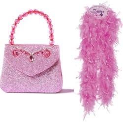 Great Pretenders Glitter Princess Handbag and Boa Bundle (Multicolor, One Size) Maisonette found on Bargain Bro from maisonette.com for USD $19.76