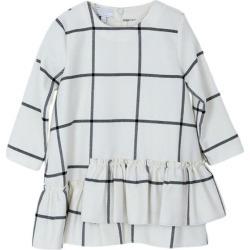 Pinolini Check Ruffle Dress, (White, Size 2Y) Maisonette found on Bargain Bro from maisonette.com for USD $53.50