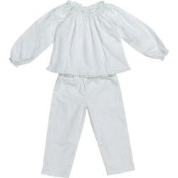 Mia + Finn Cecilia Pajama Set (Blue, Size 7-8Y) Maisonette found on Bargain Bro India from maisonette.com for $62.00