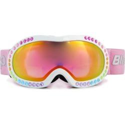 Bling2O Rainbow Rhinestone Ski Goggle (White) Maisonette found on Bargain Bro from maisonette.com for USD $45.56