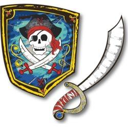 Great Pretenders Pirate EVA Sword & Shield Bundle Maisonette found on Bargain Bro from maisonette.com for USD $19.00