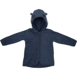 Huttlihut Cotton Fleece Jacket w/ears, (Navy Blue, Size 2-3Y) Maisonette found on Bargain Bro Philippines from maisonette.com for $75.00